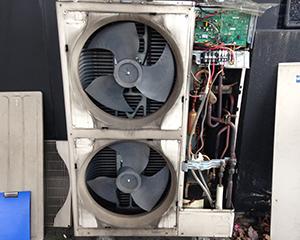 三田市パチンコ店舗 空調機修繕工事